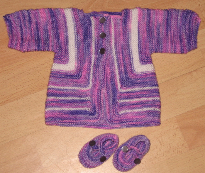 Crochet Surprise Jacket Free Pattern : BABY SURPRISE JACKET PATTERN - Browse Patterns